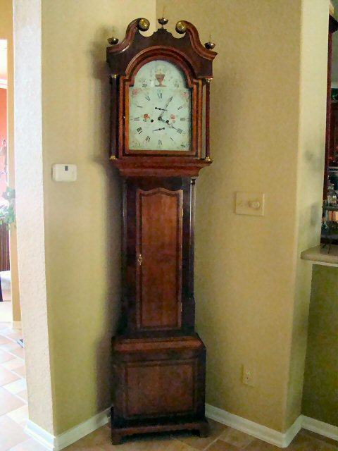 English 18th Century Grandfather Clock