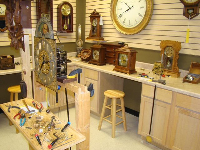 Houston Heirloom Clock Renovation