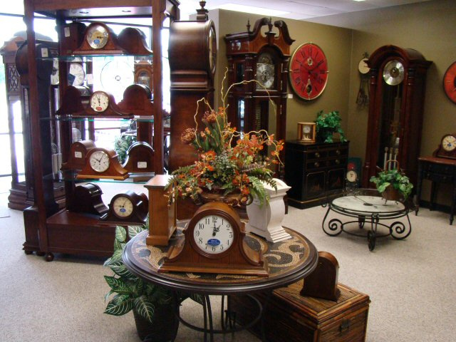 The Clock Shop Houston Showroom